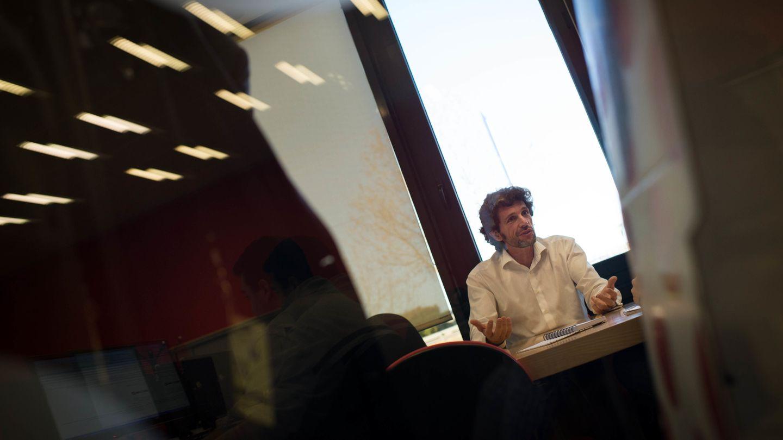 Pedro Serrahima, en su época de Director de Pepephone