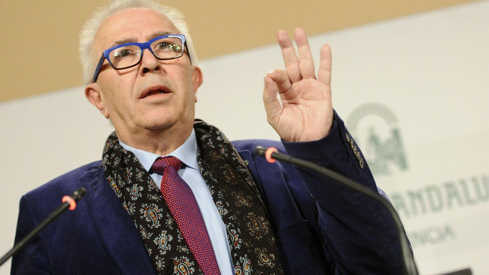 Foto: El consejero andaluz de Economía, José Sánchez Maldonado. (EFE)