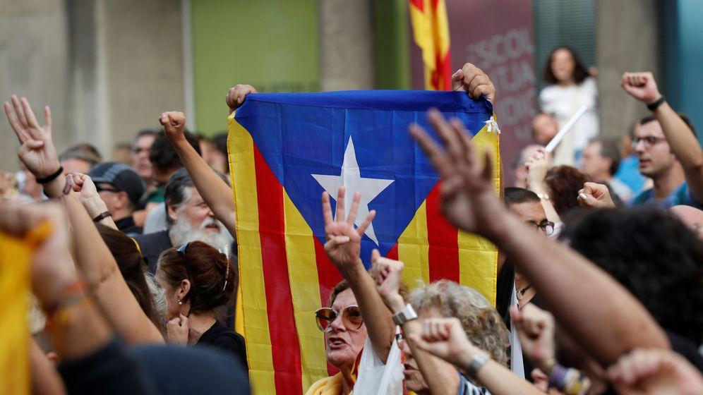Foto: Manifestación en Barcelona contra la sentencia del 'procés'. (Reuters)