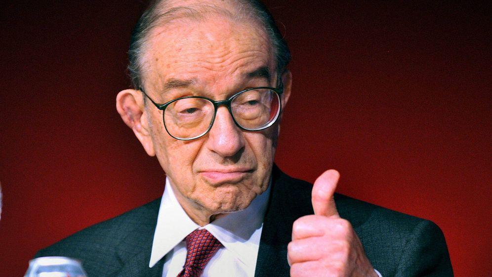 Foto: El ex presidente de la Reserva Federal de Estados Unidos Alan Greenspan. (EFE)