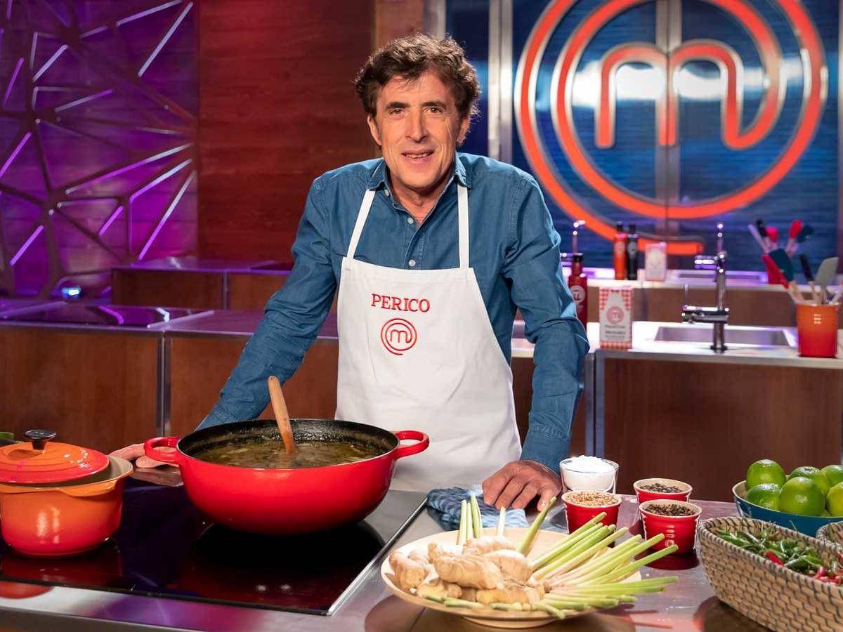 Foto:  Pedro Delgado en 'MasterChef Celebrity'. (TVE)
