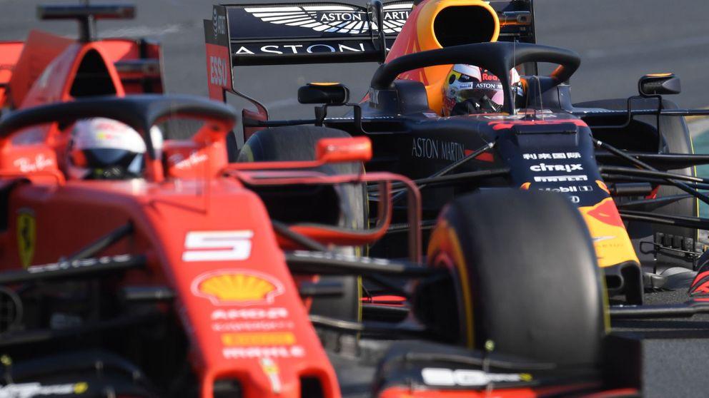 Más problemas para Ferrari: cómo Red Bull se le ha subido a las barbas