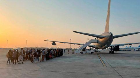 Directo | La base de Torrejón recibe al avión con 292 afganos rescatados
