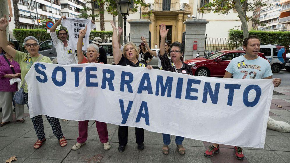 Foto: Se adelantan las obras de soterramiento del AVE en Murcia. (EFE)