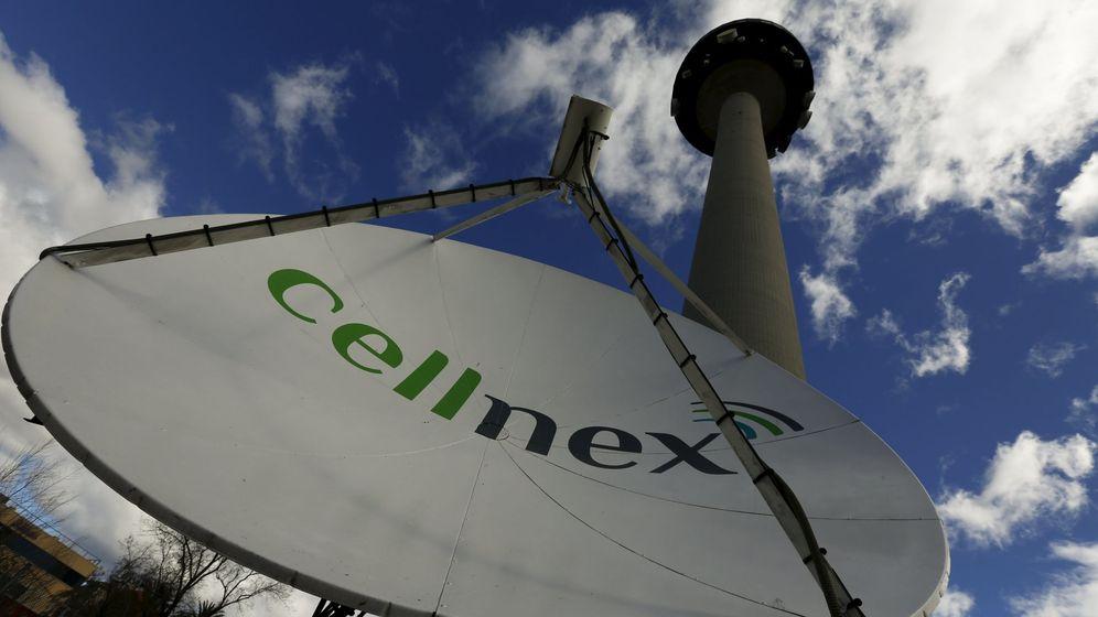 Foto: Una antena de Cellnex en el 'Piruli' de Madrid