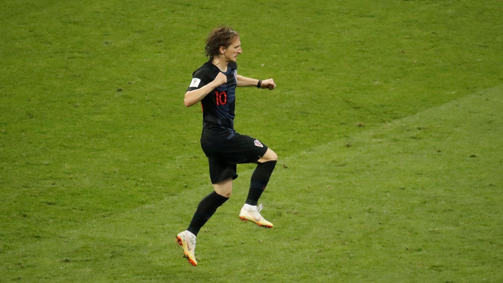 Foto: Luka Modric, capitán de Croacia. (Reuters)
