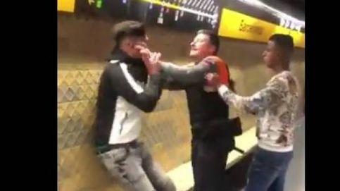 Brutal agresión racista  de un vigilante en el Metro de Barcelona