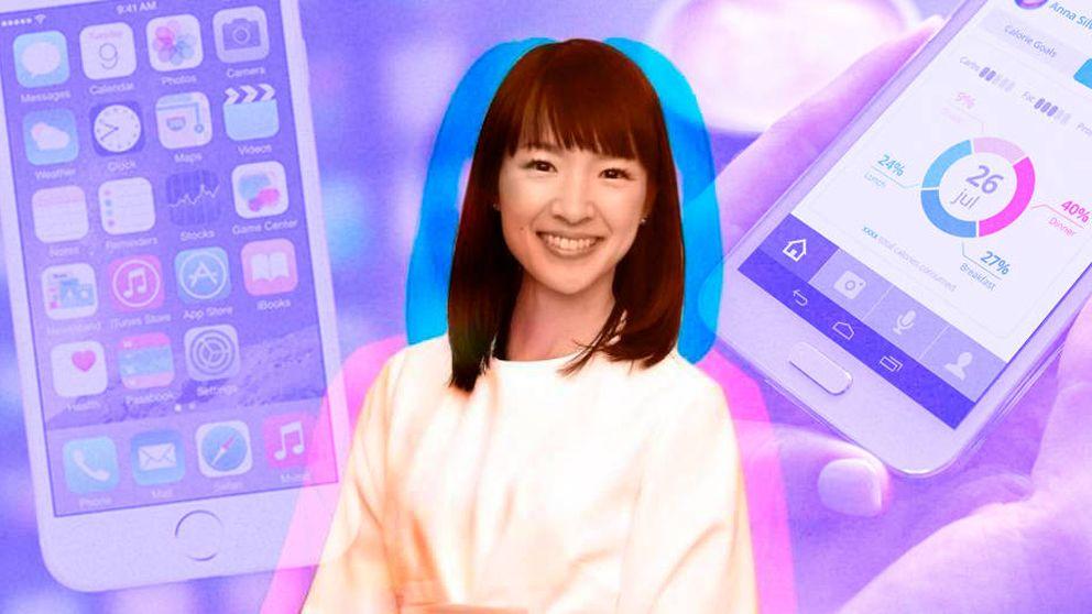 Cómo usar el famoso método Marie Kondo para organizar de verdad tu móvil