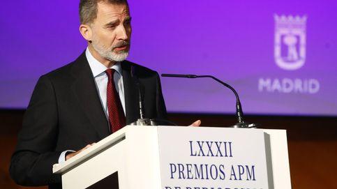 Felipe VI: Sin libertad de expresión e información no hay democracia
