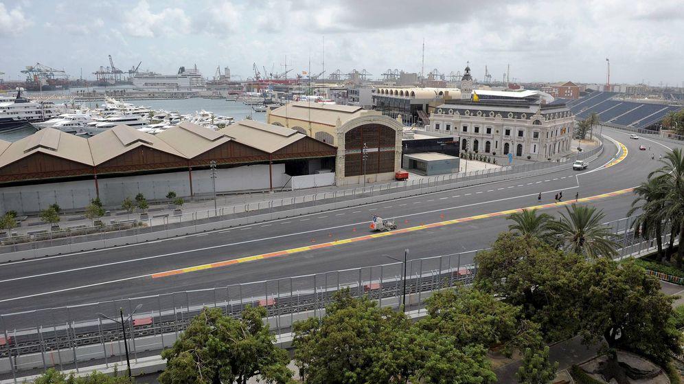 Foto: Una parte de trazado del Valencia Street Circuit, ahora abandonado. (EFE)