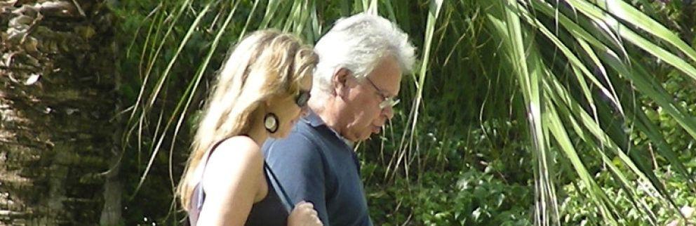 Felipe González y Mar García Vaquero pasan su luna de miel en Ibiza