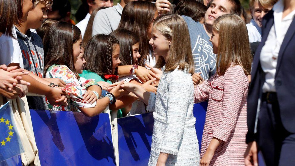 Así hemos vivido, en directo, la visita de la princesa Leonor a Asturias