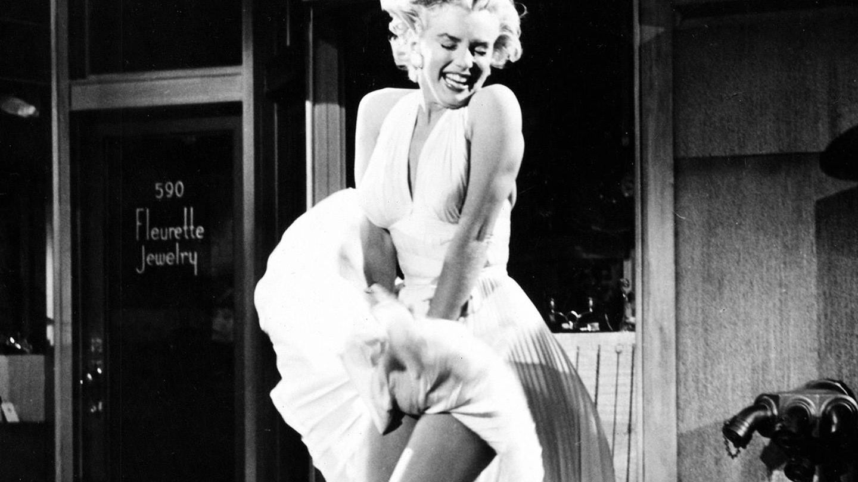Marilyn Monroe, en 'La tentación vive arriba'. (Cortesía)