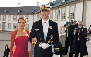 El día que Letizia sorprendió al mundo con dos vestidos de Caprile