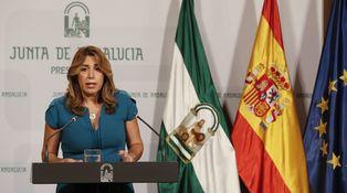 Susana Díaz está enfadada
