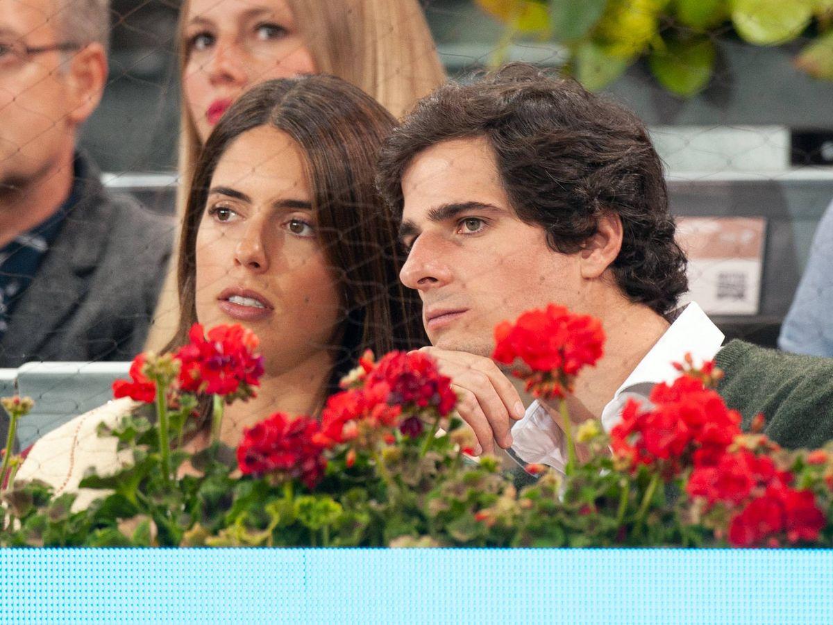 Foto: Sofía Palazuelo y Fernando Fitz-James Stuart y Solís en el Mutua Madrid Open (Getty Images)