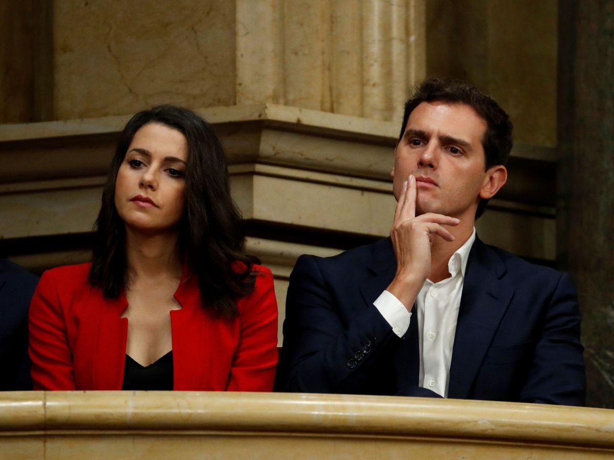Foto: Albert Rivera e Inés Arrimadas. (EFE)