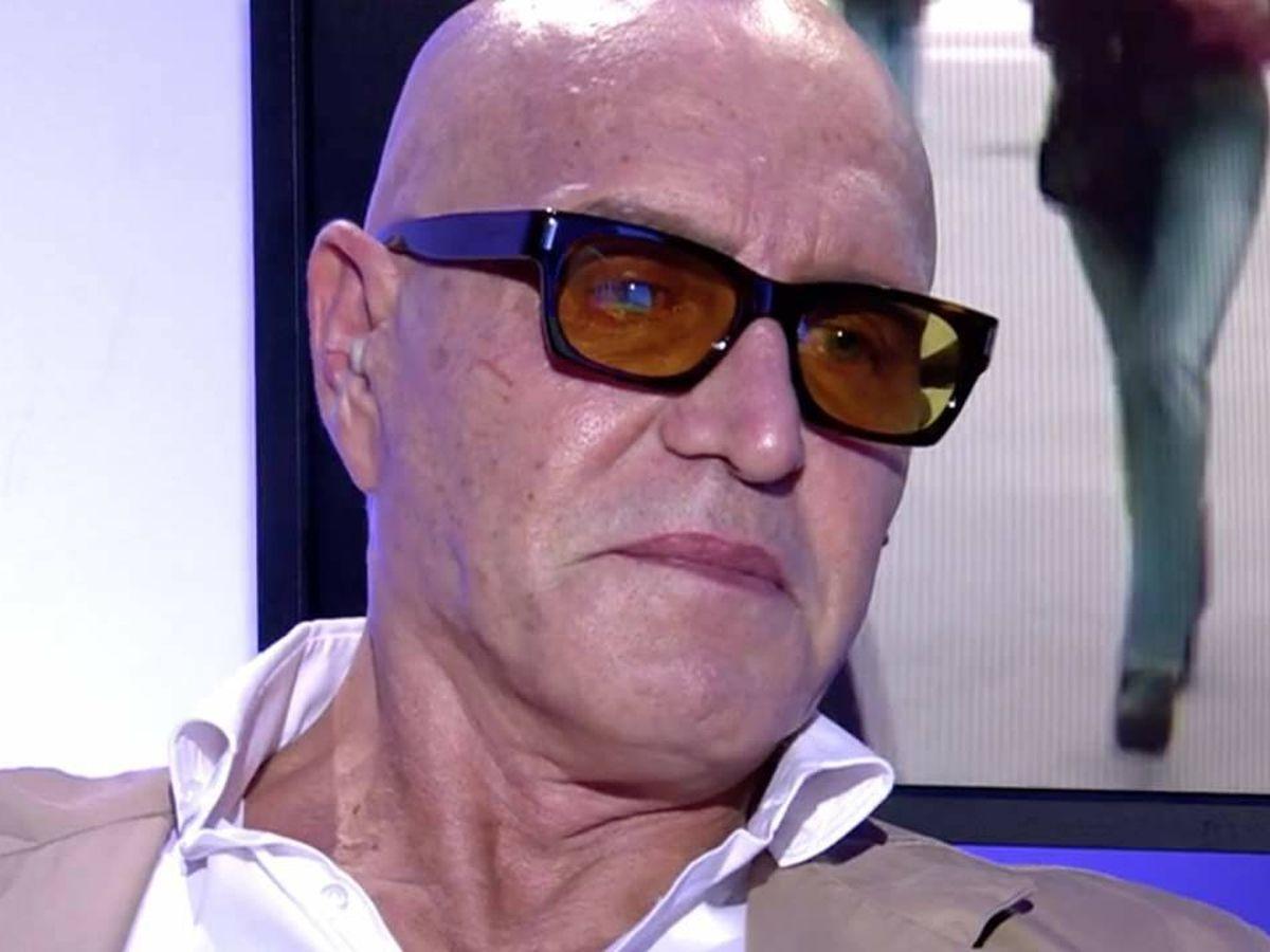 Foto: Kiko Matamoros, en 'Sálvame'. (Telecinco).