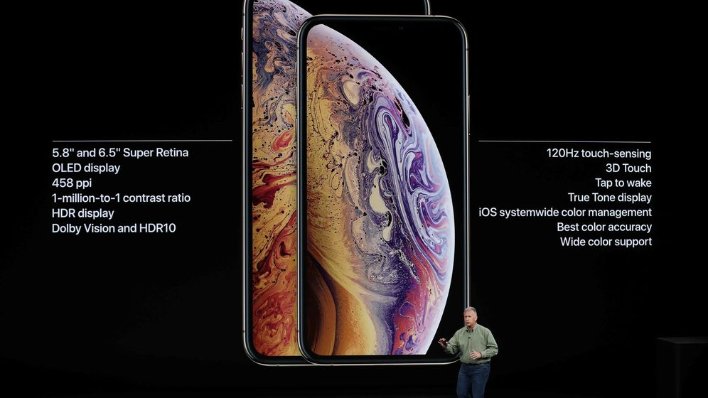 Foto: Presentación de los nuevos iPhone (Reuters)