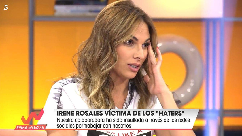 Irene Rosales revienta contra sus detractores: Trabajo donde me da la gana