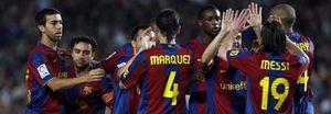 El Barcelona busca encaminar su clasificación con el enigma Ronaldinho