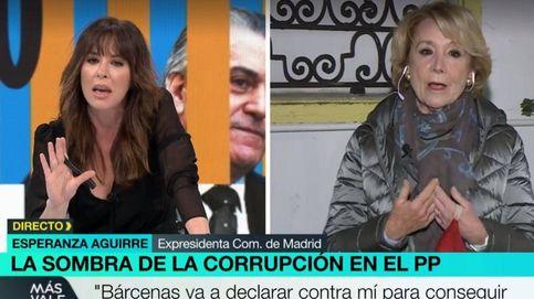 Mamen Mendizábal y Esperanza Aguirre, a la gresca en laSexta: Tenga un poco de respeto