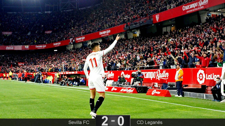 La crisis no merma la historia del Sevilla