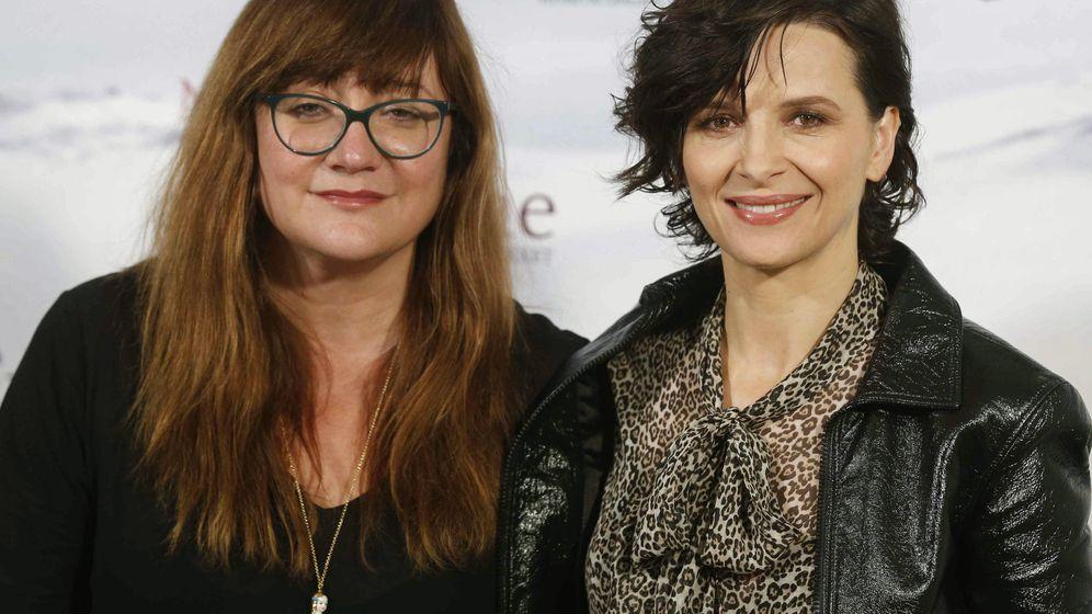 Foto: Juliette Binoche junto a Isabel Coixet en la presentación de la película en Madrid (EFE)