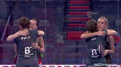 Las favoritas acceden a semifinales en el cuadro femenino Estrella Damm Zaragoza