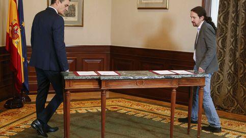 Los 'sherpas' de la coalición; Redondo y Del Olmo y el 'tour' por el Consejo de Ministros
