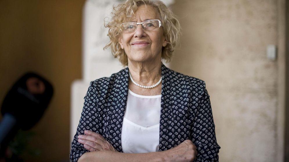 Foto: La alcaldesa de Madrid, Manuela Carmena (EFE).