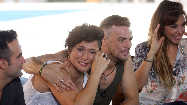 Foto: Rosa López tampoco pudo reprimir sus lágrimas en el segundo especial de 'OT' (RTVE)
