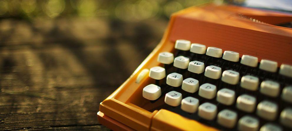 Foto: El imparable retorno de la máquina de escribir