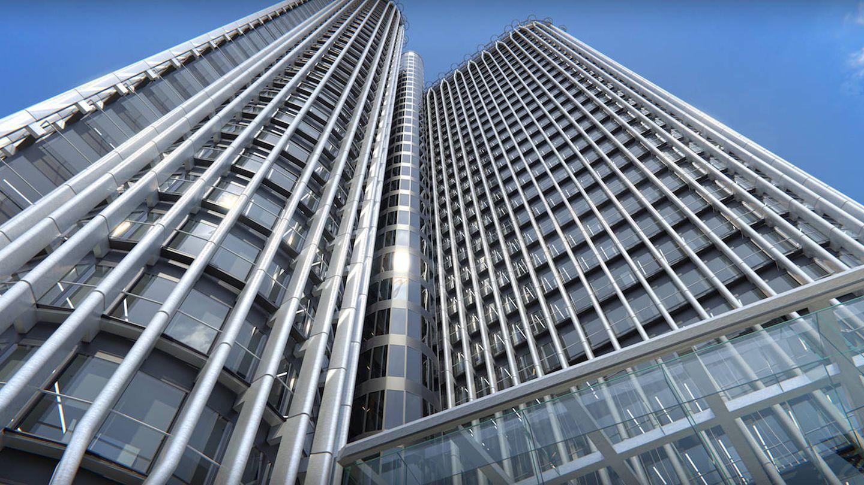 Fachada de Torre Europa, nueva sede de Freshfields en la capital.