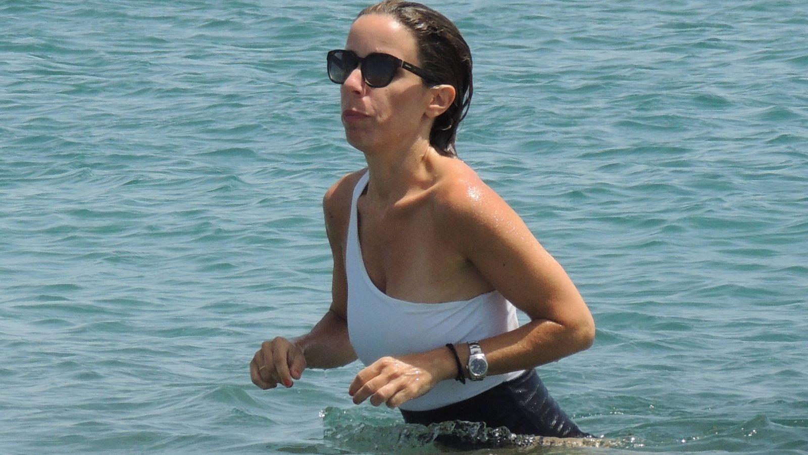 Foto: Ana Aznar Botella, de vacaciones en Sotogrande. (Lagencia Grosby)