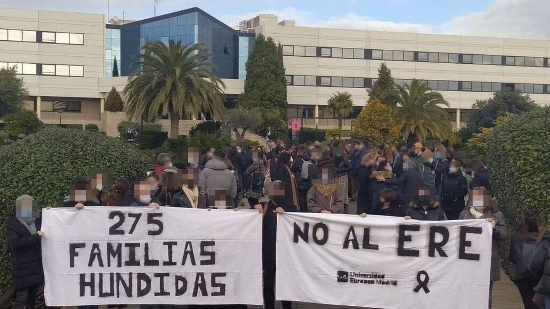 Los docentes de la Europea planean huelgas contra el ERE: Busca cambiar el modelo