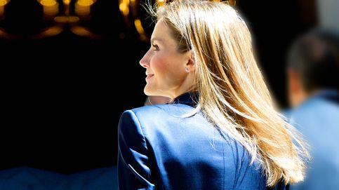 Letizia, del tonteo con el rubio al romance con el color avellana: su evolución capilar