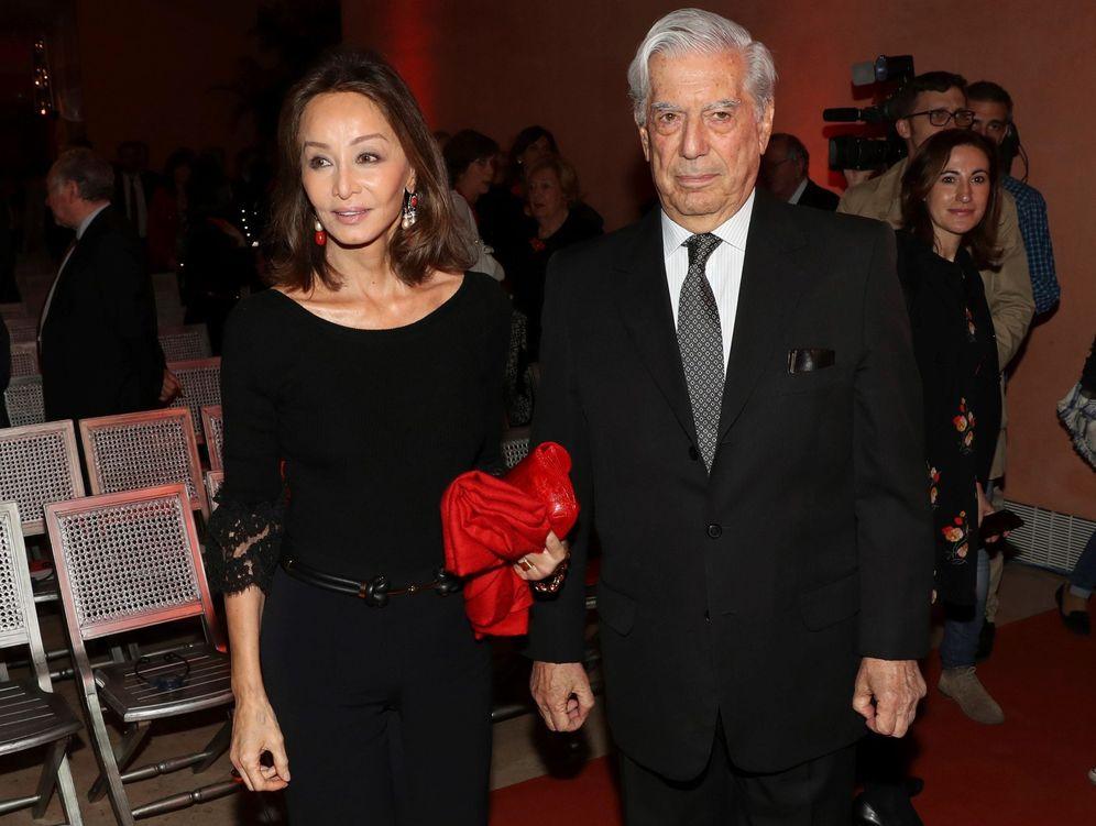 Foto: Preysler y Vargas Llosa en una imagen de archivo. (Gtres)