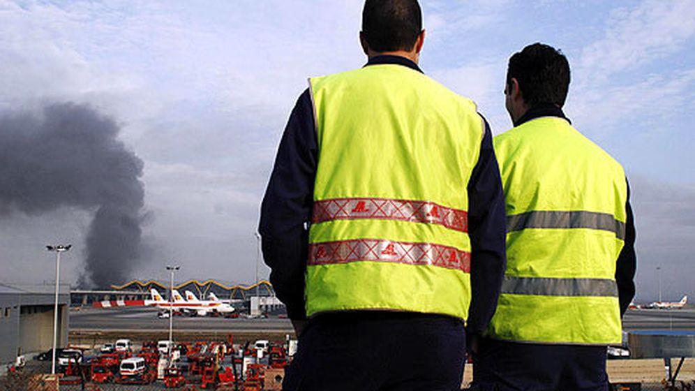 Foto: Atentado contra la T4 del aeropuerto Adolfo Suárez. (EFE)