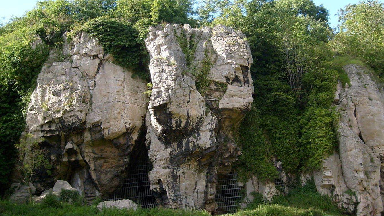Foto: Cueva de Creswell Crags, en Inglaterra.