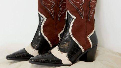 Estos botines cowboy de Stradivarius te darán un look western perfecto