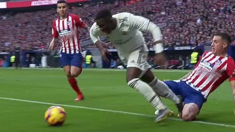 La polémica del derbi: el VAR, decisivo en el Atlético - Real Madrid