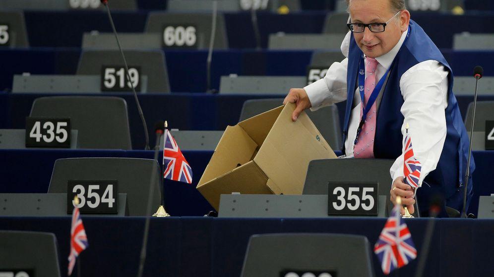 Foto: El eurodiputado del UKIP Raymond Finch. (Reuters)