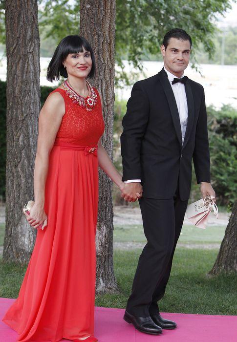 Foto: La periodista Irene Villa y su marido, Juan Pablo Lauro, en una imagen de archivo (Gtres)