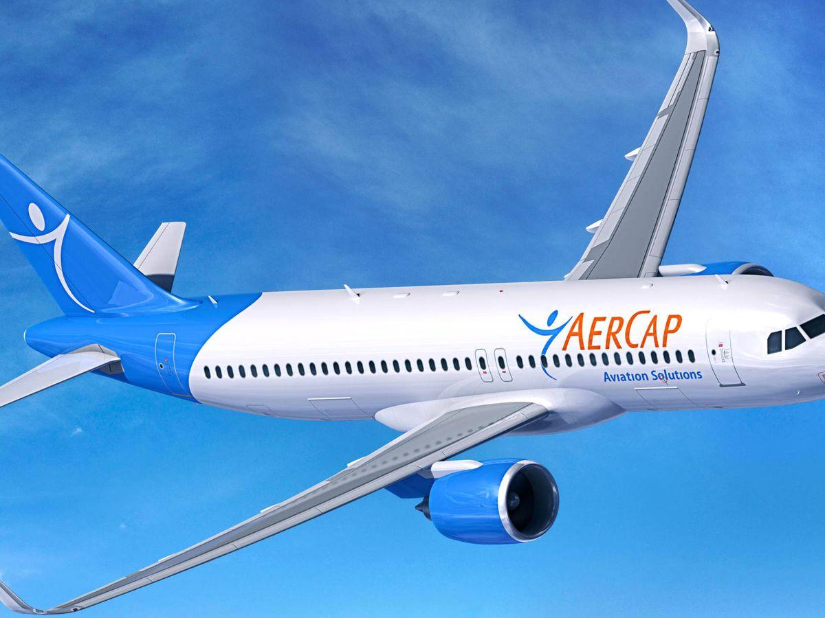 Foto: Un A320 del líder de las empresas de leasing. (Aercap)