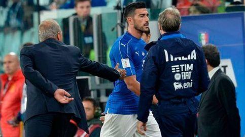 Pellè, expulsado de la selección italiana por negar la mano e insultar a Ventura