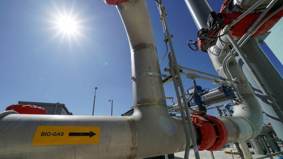 Foto: Planta de biogás en EEUU. (Reuters)