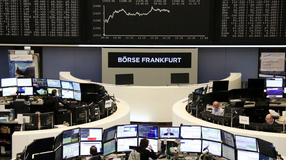 Foto: Bolsa de Fráncfort (Reuters)