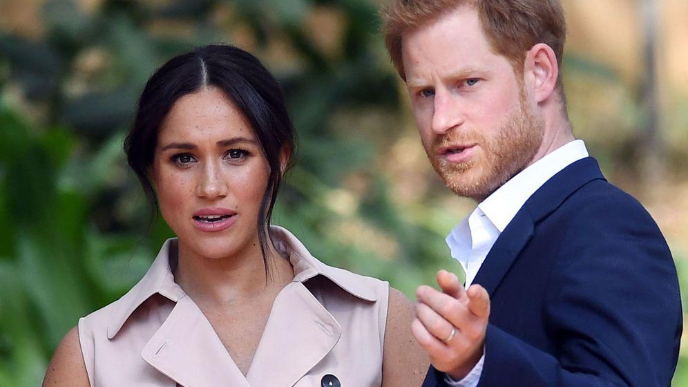 Foto: El príncipe Harry y Meghan Markle. (EFE)