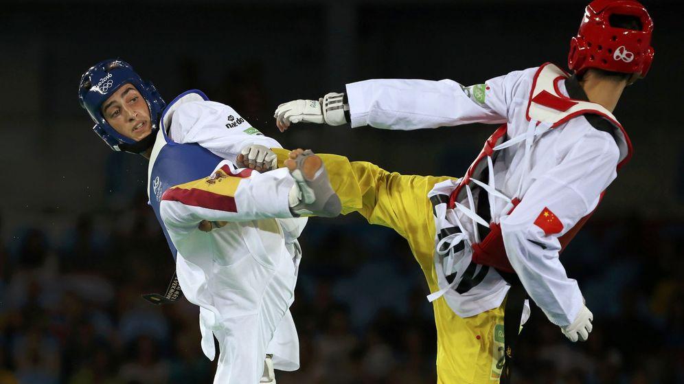 Foto: Jesús Tortosa en su combate con Zhao Shuai (Issei Kato/REUTERS)